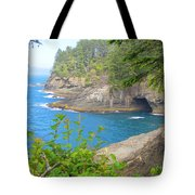 The Caves Of Cape Flattery  Tote Bag