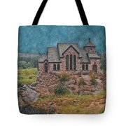 The Chapel Tote Bag by Ernie Echols
