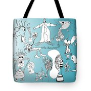 The Characters Tote Bag