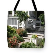The Cheerful Porch Tote Bag