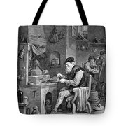 The Chemist, 17th Century Tote Bag
