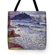 The Choppy Sea Tote Bag by Henri-Edmond Cross