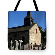 The Church Of Sainte-onenne Tote Bag