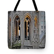 The Church Tower Tote Bag