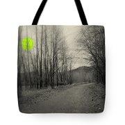 The Circle Green - Bare Walkin Trail Tote Bag