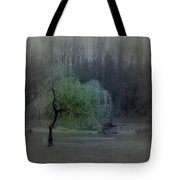 The Circle Green - Tree By The River Tote Bag