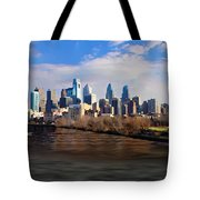 The City Of Brotherly Love Tote Bag