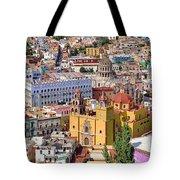 The City Of Guanajuato Tote Bag