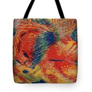 The City Rises Tote Bag