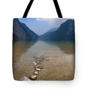 The Clear Waters Of King's Lake Tote Bag
