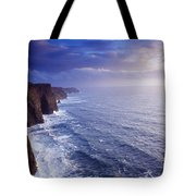 The Cliffs Of Moher, County Clare Tote Bag