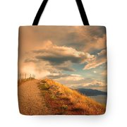 The Cloud Path Tote Bag