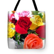 The Color Of A Rose Tote Bag