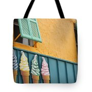 The Color Of Cones Tote Bag