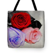 The Color Of My Love Tote Bag