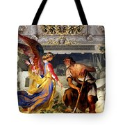 The Colored Angel Tote Bag