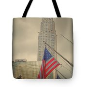 The Colors Flying In New York Tote Bag