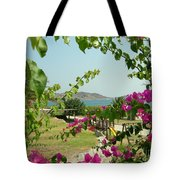 The Colors Of Paros Tote Bag