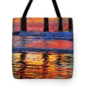 The Colours Of Dawn  Tote Bag