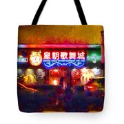 The Colours Of Singapore Nights Tote Bag