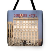 The Congress Hotel - 1 Tote Bag