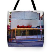 The Continental Diner Tote Bag by Bill Cannon