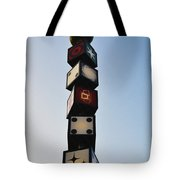 The Continental Diner Dice Tote Bag