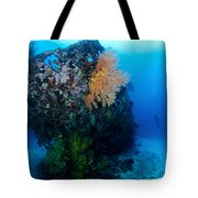 The Coral Encrusted Stern Tote Bag