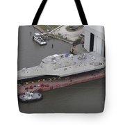 The Coronado Littoral Combat Ship Tote Bag