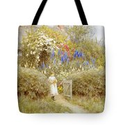 The Cottage Gate Tote Bag