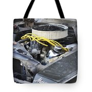 The Cougar Purrs Tote Bag