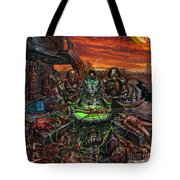 The Creation Of Chaos Tote Bag