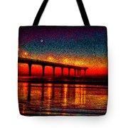 The Crisp Dawn  Tote Bag