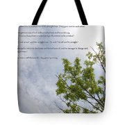 The Crooked Tree Tote Bag