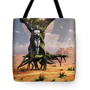 The Crucifixion Of A Messianic Martyr Tote Bag by Mark Stevenson