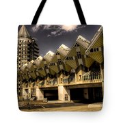 The Cube House  Tote Bag
