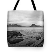 The Cuillin's In The Mist Tote Bag