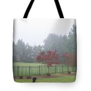 The Curious Dog Tote Bag