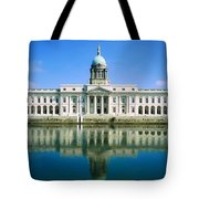 The Custom House, River Liffey, Dublin Tote Bag