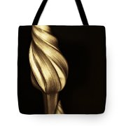 The Dance Of The Golden Moonflower Tote Bag