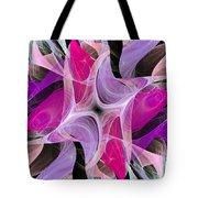 The Dancing Princesses Abstract Tote Bag