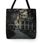 The Dark Plantation Tote Bag by James Christopher Hill