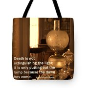 The Dawn Has Come Tote Bag