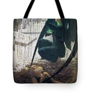 The Death And The Gravedigger Tote Bag