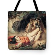 The Death Of Hippolyte Tote Bag
