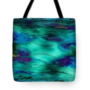 The Deep End Of The Ocean Tote Bag
