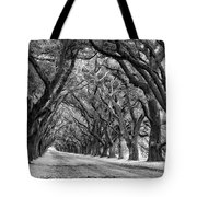 The Deep South Monochrome Tote Bag