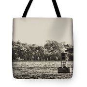 The Delaware River At Bristol Tote Bag