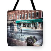 The Demon He's Back Tote Bag