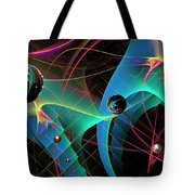 The Descent Into March Madness Tote Bag